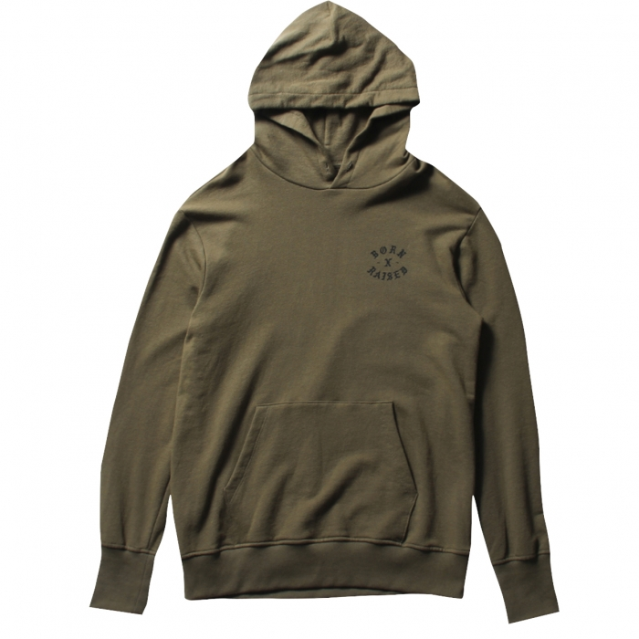 BORNXRAISED THE TOWN HOODY 35302