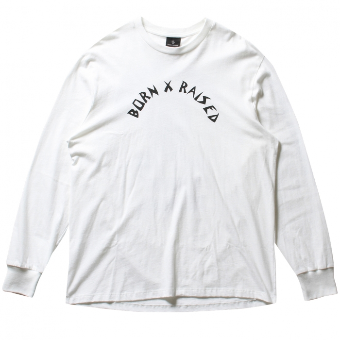 BORNXRAISED THE GIPPER LONGSLEEVE 35501