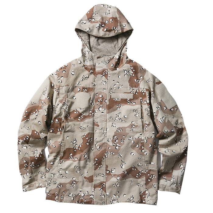 FUCT SSDD HOODED MILITARY PARKA 48004