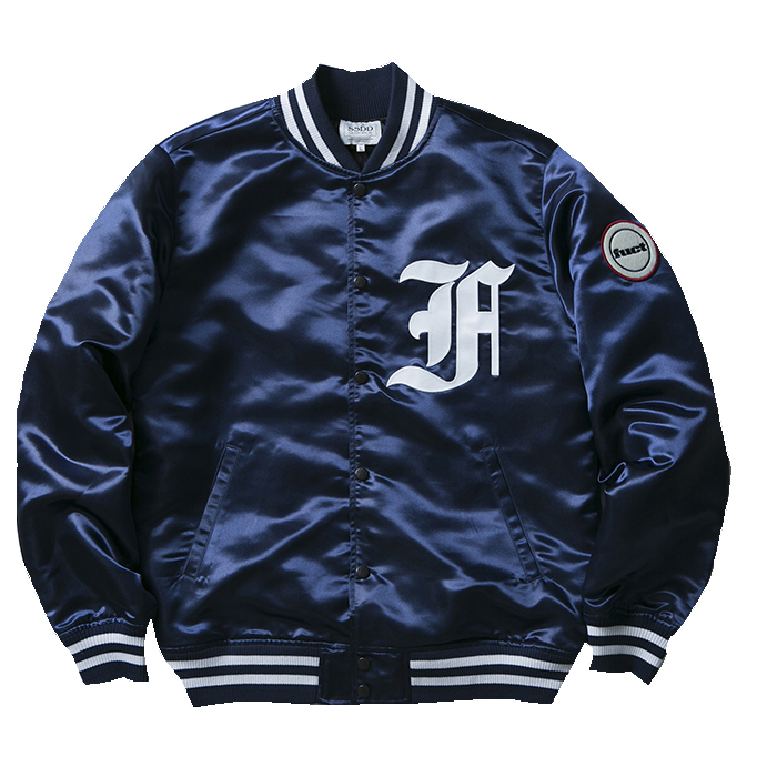 FUCT SSDD FIRST DIVISION SATIN JACKET 48008