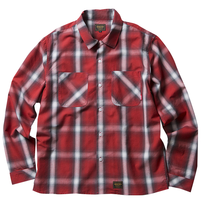 FUCT SSDD OMBRE CHECK SHIRT 48101