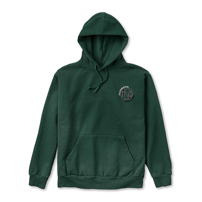 NUMBERS EDITION N.E. - FLEECE HOODIE 14302