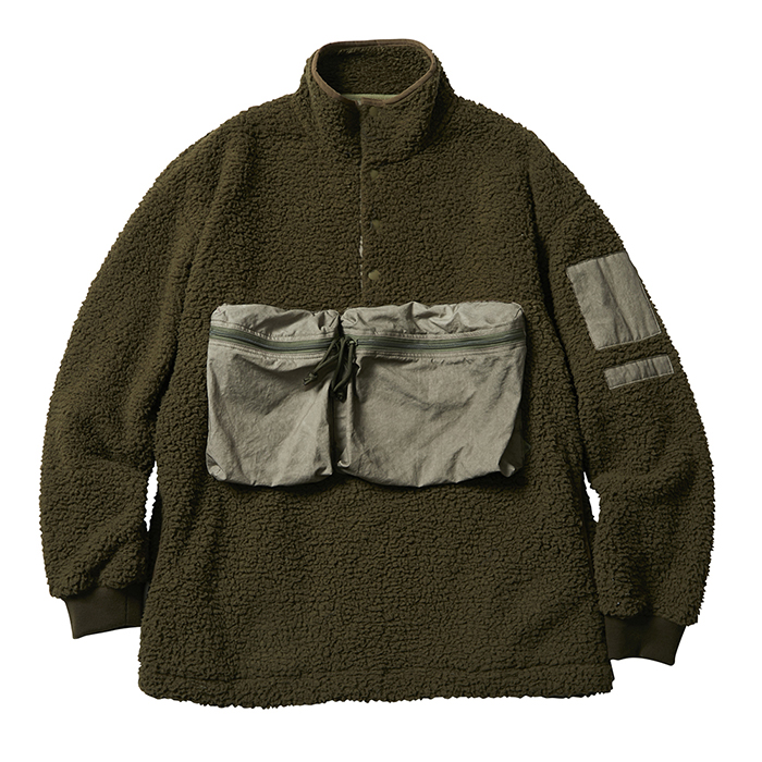 LIBERAIDERS PILE  FLEECE PULLOVER 74009