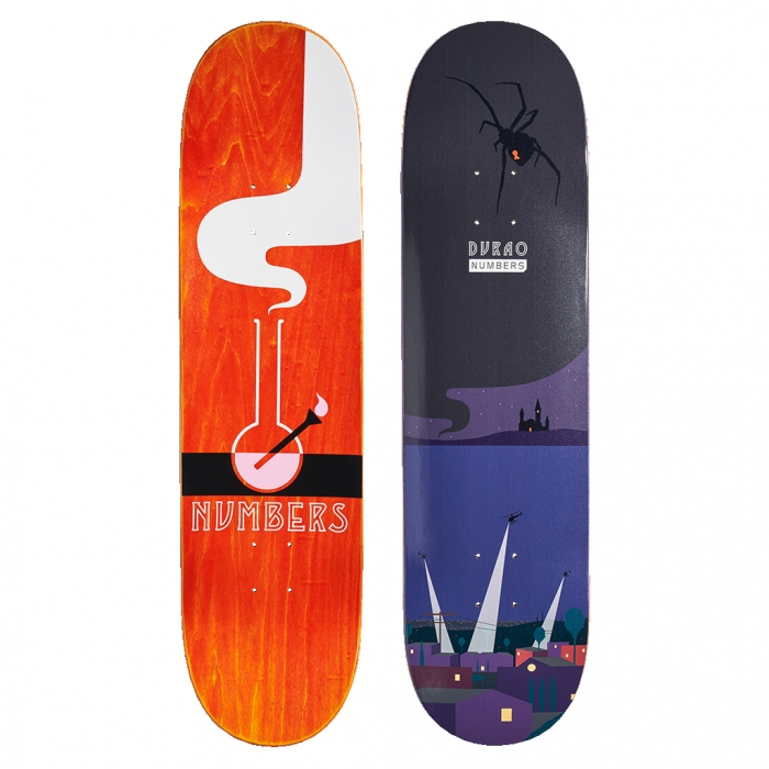 NUMBERS EDITION DURAO DECK - EDITION 6 - 8.3 17902
