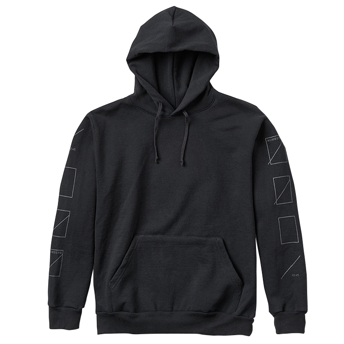 Numbers Edition 3M ASSEMBLY FLEECE PULLOVER 18303