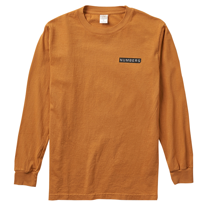 Numbers Edition LOGOTYPE-L/S T-SHIRT 18503